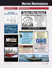 Marine News Magazine, page 63,  Dec 2018