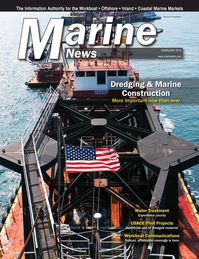 Marine News Magazine Cover Feb 2019 - Dredging & Marine Construction