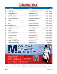 Marine News Magazine, page 64,  Feb 2019