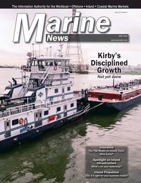 Marine News Magazine Cover May 2019 - Inland Waterways
