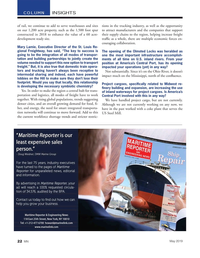 Marine News Magazine, page 22,  May 2019