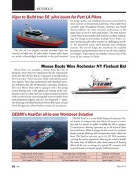 Marine News Magazine, page 52,  May 2019
