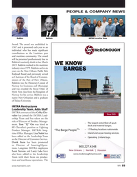 Marine News Magazine, page 55,  May 2019