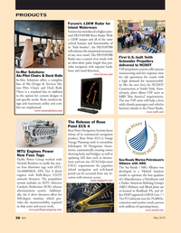 Marine News Magazine, page 58,  May 2019