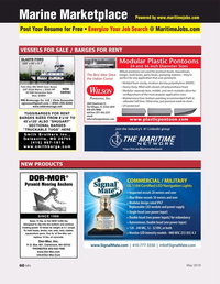 Marine News Magazine, page 60,  May 2019