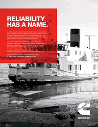 Marine News Magazine, page 3rd Cover,  May 2019