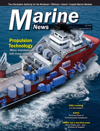 Marine News Magazine Cover Jul 2019 - Propulsion Technology