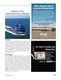 Marine News Magazine, page 37,  Aug 2019