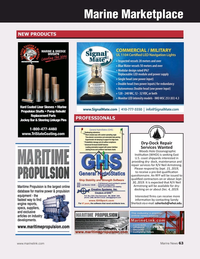 Marine News Magazine, page 63,  Sep 2019