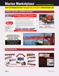 Marine News Magazine, page 108,  Nov 2019