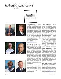 Marine News Magazine, page 8,  Dec 2019