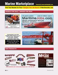 Marine News Magazine, page 60,  Dec 2019