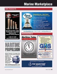 Marine News Magazine, page 63,  Dec 2019