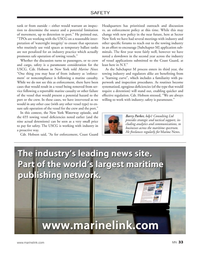 Marine News Magazine, page 33,  Jan 2020