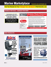 Marine News Magazine, page 60,  Mar 2020