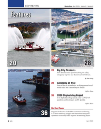 Marine News Magazine, page 2,  Apr 2020