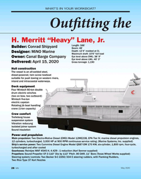 Marine News Magazine, page 28,  May 2020