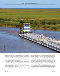 Marine News Magazine, page 32,  May 2020