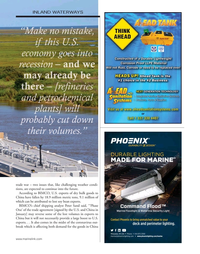 Marine News Magazine, page 33,  May 2020