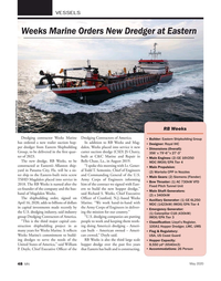 Marine News Magazine, page 48,  May 2020
