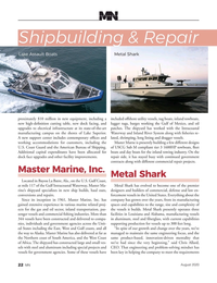 Marine News Magazine, page 22,  Aug 2020