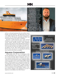 Marine News Magazine, page 43,  Aug 2020