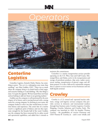 Marine News Magazine, page 54,  Aug 2020