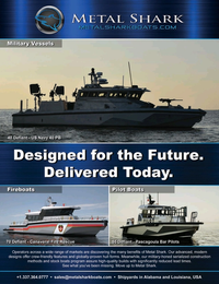 Marine News Magazine, page 3rd Cover,  Aug 2020