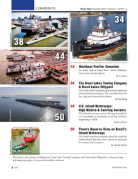 Marine News Magazine, page 2,  Nov 2020