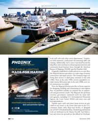 Marine News Magazine, page 40,  Nov 2020