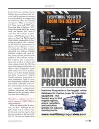 Marine News Magazine, page 61,  Nov 2020