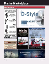 Marine News Magazine, page 78,  Nov 2020
