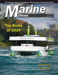 Marine News Magazine Cover Dec 2020 - Innovative Boats & Products