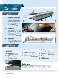 Marine News Magazine, page 2,  Jan 2021