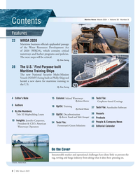 Marine News Magazine, page 2,  Mar 2021