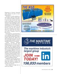 Marine News Magazine, page 29,  May 2021