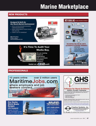 Marine News Magazine, page 47,  May 2021