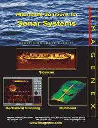 Marine Technology Magazine, page 9,  Apr 2005