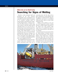 Marine Technology Magazine, page 10,  Apr 2005 West Antarctic