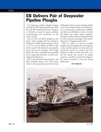Marine Technology Magazine, page 12,  Apr 2005 EB