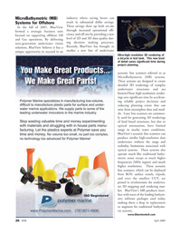 Marine Technology Magazine, page 26,  Apr 2005 etry software packages