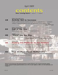 Marine Technology Magazine, page 2,  Apr 2005 Tore Halvorsen