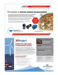 Marine Technology Magazine, page 39,  Apr 2005