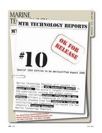 Marine Technology Magazine, page 44,  Apr 2005