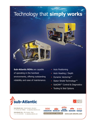 Marine Technology Magazine, page 3,  Apr 2005 Sub-Atlantic Ltd.