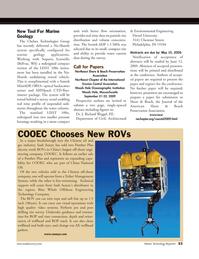 Marine Technology Magazine, page 53,  Apr 2005 Massachusetts