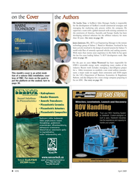 Marine Technology Magazine, page 4,  Apr 2005