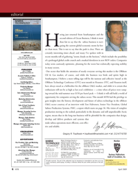 Marine Technology Magazine, page 6,  Apr 2005