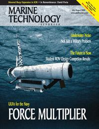 Marine Technology Magazine Cover Jul 2005 -