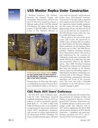 Marine Technology Magazine, page 13,  Jul 2005 Missouri